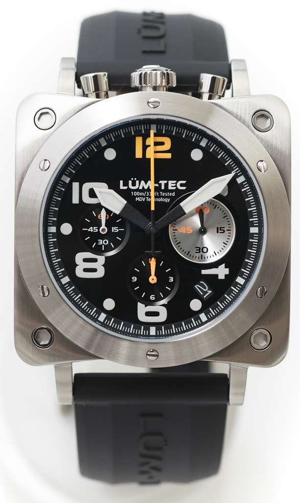 Lum-Tec Watch - Bull42 - A21 Mens Stainless Steel