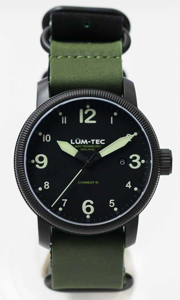 Lum-Tec Watch - Combat B - B36 Mens w/ Two Straps - DISCONTINUED