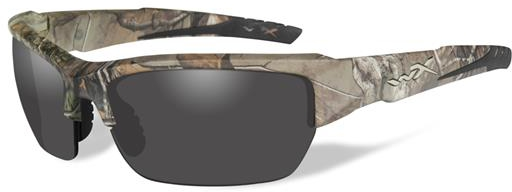 Wiley X Sunglasses - Valor Grey Lens REALTREE XTRA Camo Frame - Changeable Series CHVAL03