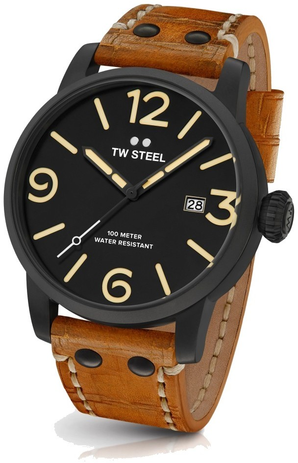 TW Steel Quartz Watch - Maverick Collection Leather Strap - MS32 (Mens) - LIMITED STOCK