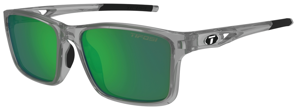 Tifosi Sunglasses - Marzen Crystal Smoke Swivelink w/ Smoke Green Lenses