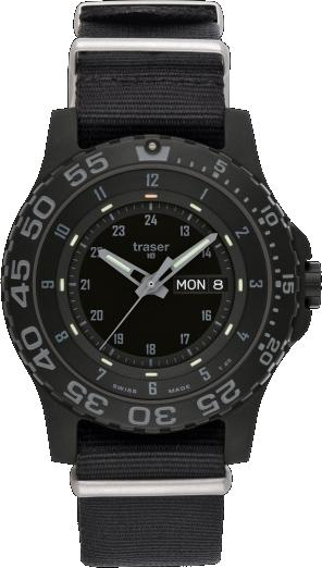 Traser Tritium Watch - Tactical Collection - P 6600 Shade w/ Nylon Strap - 103353
