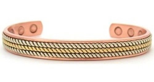 Nortia - Solid Copper Magnetic Therapy Bracelet (MBG-21)