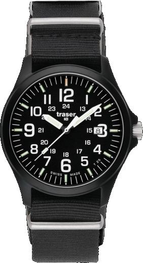 Traser Tritium Watch - Heritage Collection - Officer Pro w/ Nylon Strap - 103350