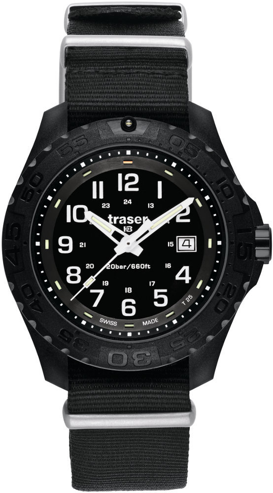 Traser Tritium Watch - Sport Collection - Outdoor Pioneer w/ Nylon Strap - 102902