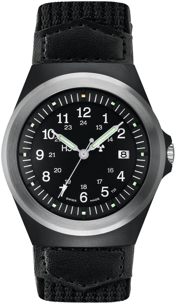 Traser Tritium Watch - Heritage Collection - P5900 Type 3 w/ Textile-Leather Strap - 100163