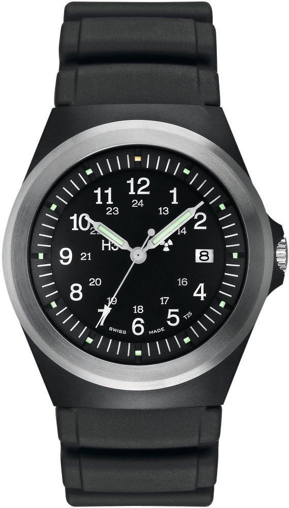 Traser Tritium Watch - Heritage Collection - P5900 Type 3 w/ Rubber Strap - 100233 - DISCONTINUED