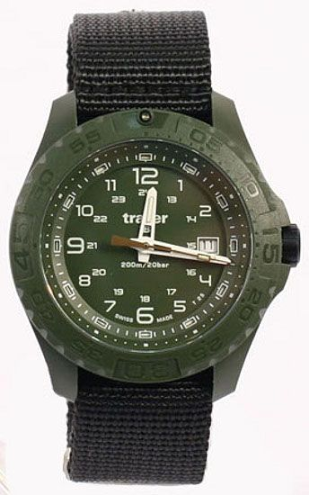Traser Tritium Watch - Tactical Collection - Soldier w/ Nylon Strap - 106626