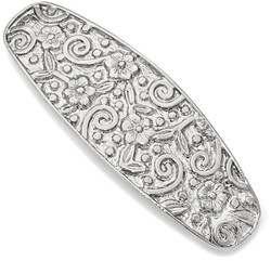 1928 Jewelry - Silver-tone Hair Barrette