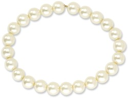 1928 Jewelry - Simulated Pearl Stretch Bracelet