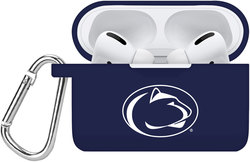 Penn State Nittany Lions Silicone Case Cover Compatible with Apple AirPods PRO Battery Case - Navy Blue