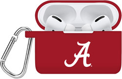 Alabama Crimson Tide Silicone Case Cover Compatible with Apple AirPods PRO Battery Case - Crimson Red