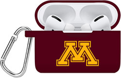 Minnesota Golden Gophers Silicone Case Cover Compatible with Apple AirPods PRO Battery Case - Maroon
