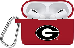 Georgia Bulldogs Silicone Case Cover Compatible with Apple AirPods PRO Battery Case - Crimson Red
