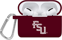 Florida State Seminoles Silicone Case Cover Compatible with Apple AirPods PRO Battery Case - Maroon
