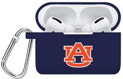Auburn Tigers Silicone Case Cover Compatible with Apple AirPods PRO Battery Case - Navy Blue