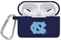North Carolina Tar Heels Silicone Silicone Case Cover Compatible with Apple AirPods PRO Battery Case - Navy Blue