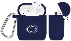 Penn State Nittany Lions Silicone Case Cover Compatible with Apple AirPods Battery Case - Navy Blue