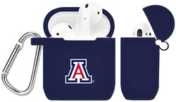 Arizona Wildcats Silicone Case Cover Compatible with Apple AirPods Battery Case - Navy Blue