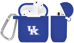 Kentucky Wildcats Silicone Case Cover Compatible with Apple AirPods Battery Case - Royal Blue