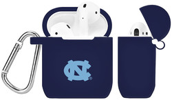 North Carolina Tar Heels Silicone Case Cover Compatible with Apple AirPods Battery Case - Navy Blue