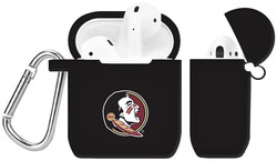 Florida State Seminoles Silicone Case Cover Compatible with Apple AirPods Battery Case - Black