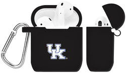 Kentucky Wildcats Silicone Case Cover Compatible with Apple AirPods Battery Case - Black