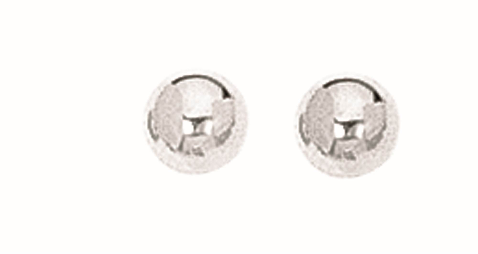 Silver Rhodium Plated 5.0mm (1/5