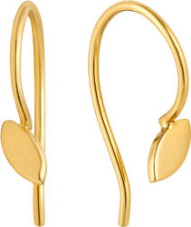 Ania Haie Gold-Plated Sterling Silver Hook Earrings