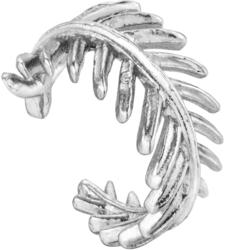 Ania Haie Rhodium-Plated Sterling Silver Palm Ear Cuff