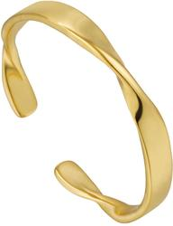 Ania Haie Gold-Plated Sterling Silver Helix Thin Adjustable Ring