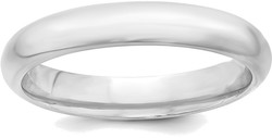 Sterling Silver 4mm Comfort Fit.5 Band Ring