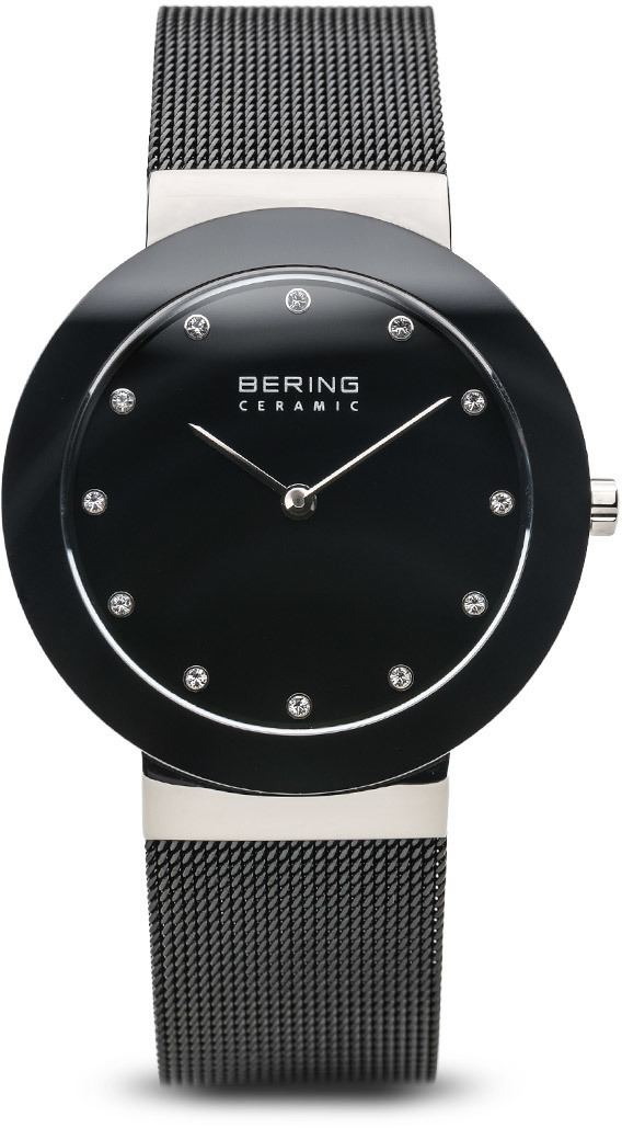 Bering Time Watch - Ceramic - Unisex Silver-Tone 11435-102