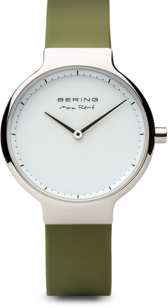 Bering Time Watch - Max Rene - Womens Polished Silver-Tone 15531-800