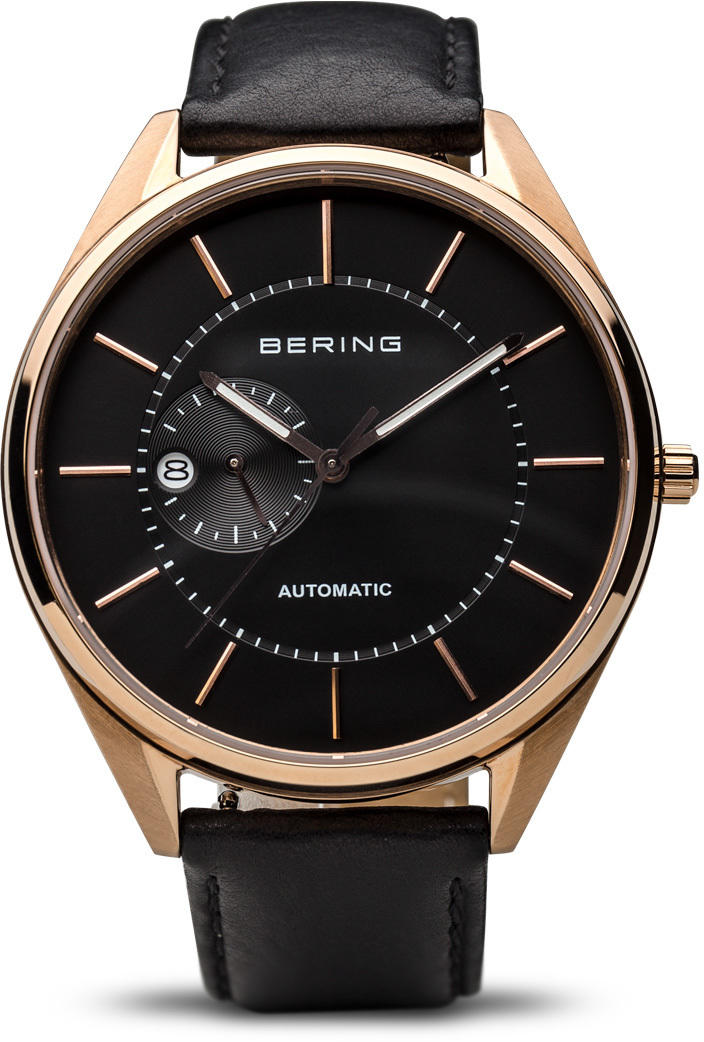 Bering Time Watch - Automatic - Mens Rose Gold-Tone 16243-462