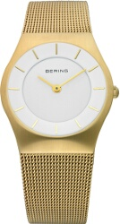 Bering Time - Classic - Ladies Gold Mesh Watch 11930-334 (Womens) - CLEARANCE
