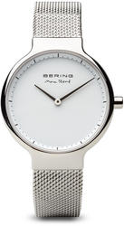 Bering Time Watch - Max Rene - Womens Polished Silver-Tone 15531-004