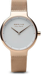 Bering Time Watch - Max Rene - Womens Polished Rose Gold-Tone 15531-364