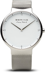 Bering Time Watch - Max Rene - Mens Polished Silver-Tone 15540-004