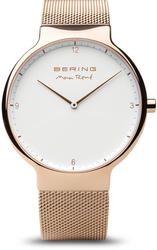 Bering Time Watch - Max Rene - Mens Polished Rose Gold-Tone 15540-364