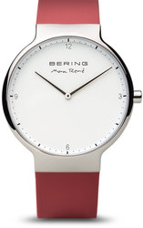 Bering Time Watch - Max Rene - Mens Polished Silver-Tone 15540-500