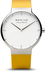 Bering Time Watch - Max Rene - Mens Polished Silver-Tone 15540-600