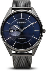 Bering Time Watch - Automatic - Mens Brushed Black 16243-227