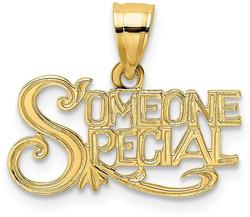 14K Yellow Gold Someone Special Pendant
