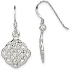 Sterling Silver Dangle Earrings QE11978