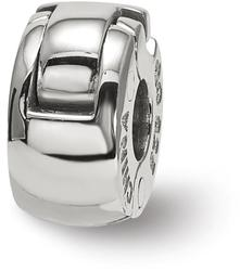 Sterling Silver Reflections Silicone Hinged Bead