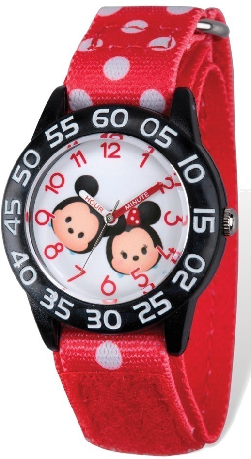 Disney Kids Tsum Tsum Mickey & Minnie Time Teacher Watch