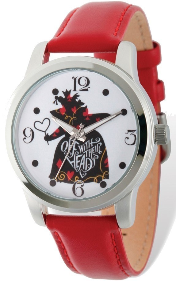 Disney Adult Size Off With Their Heads Red Band Watch