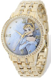 Ladies Disney Cinderella Gold-tone Bracelet Watch