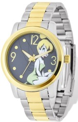 Disney Adult Size Tinker Bell Two-tone Watch